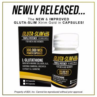 GLUTA-SLIM X-TRIM GOLD 60 Capsules Price Philippines