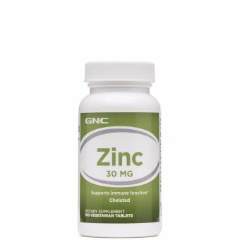 GNC ZINC 30 MG 100 Tablets
