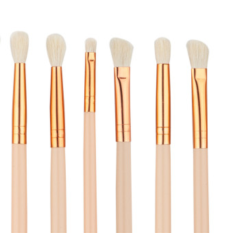 Graceful 12 set rosegold eye makeup brush Color of skin woolbrushes sets - intl - 4