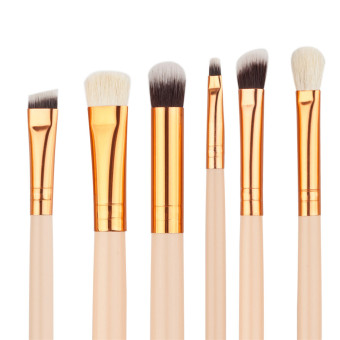 Graceful 12 set rosegold eye makeup brush Color of skin woolbrushes sets - intl - 2