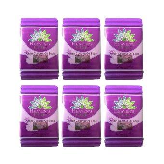 Heaven´s Cure Virgin Coconut Oil Soap 110g (Lavender) Set of 6