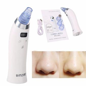 HengSong BINZIM Portable Electronic Facial Pore Cleaner Removal Pore Blackhead Acne Cleansing Device Beauty Equipment(White) - intl