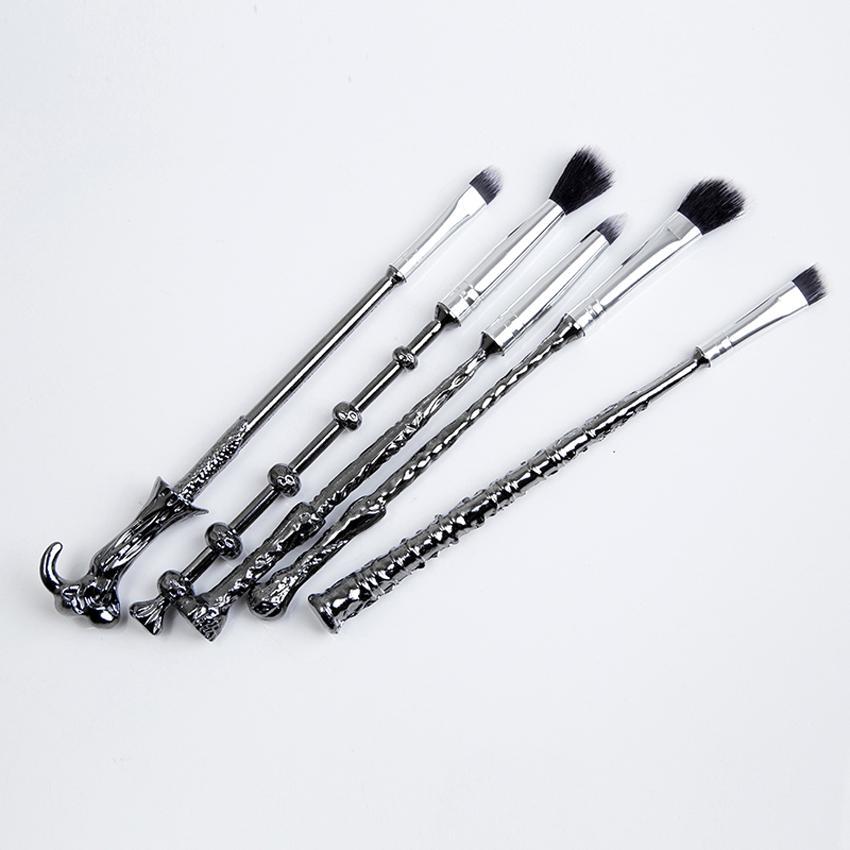 ... Hot Professional 5pcs/set Harry Potter Wand Makeup Brushes Set MugWizard Storybook Mugs Make Up ...