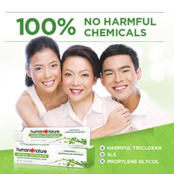 Human Nature Natural Toothpaste with Greenmineral Plus 120g - 2