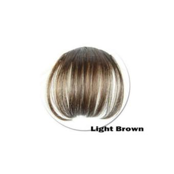 Women Bangs Wig Hair Extension Fringe Hairpieces Hair Clips Front Neat Bang - intl Price Philippines