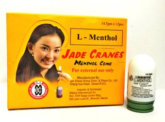 Harga Jade Cranes Menthol Cone Big 14.5g Box of 12s