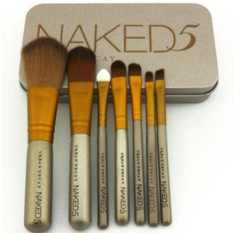 Harga Naked 7 pcs Professional Power Makeup Brushes