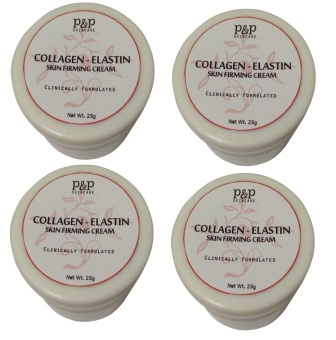 Harga P&P Skin Care Collagen-Elastin Skin Firming Cream 25g Set of 4