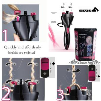 Harga Instant Fashionable Twist Hair Curler Secret Starter Kit