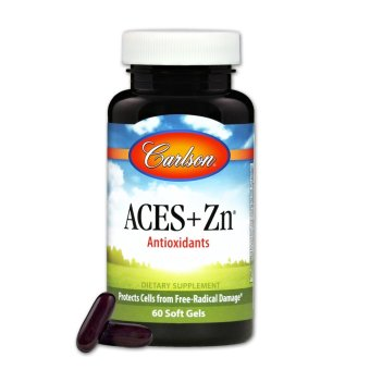 Harga Carlson ACES + Zn Bottle of 60 Soft Gels