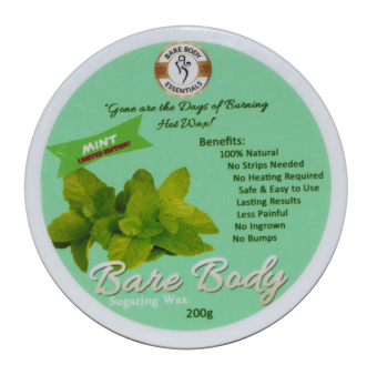 Harga Bare Body Ph Sugar Paste Hair Removal 200g (Mint)