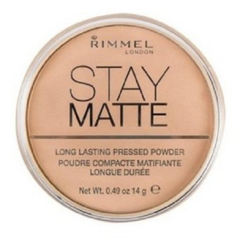 Harga Rimmel London Stay Matte Pressed Powder 14g (012 Buff Beige)