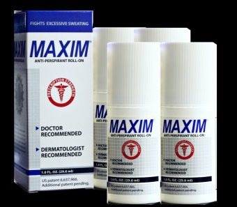 Harga PSL Maxim Original Promo Bundle of 4 Anti-Perspirant