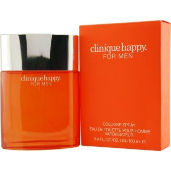 Harga Clinique Happy Cologne Spray for Men 100ml