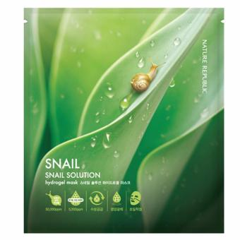 Harga Nature Republic Snail Solution Mask Sheet 30pcs