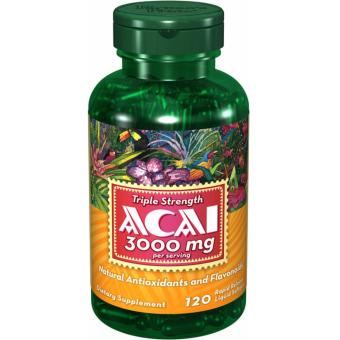 Acai Berry 3000mg, 120 Softgels Price Philippines
