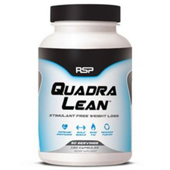 Harga RSP Nutrition QuadraLean STIM-FREE Weight Loss - 150 Capsules