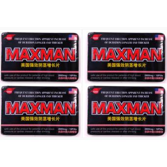 Harga Max man Penis Enlarger Sex Enhancement Supplement Capsules box of 10pills By 4s