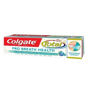 Harga Colgate Total Pro-Breath Health Multi-Benefit Toothpaste 110g
