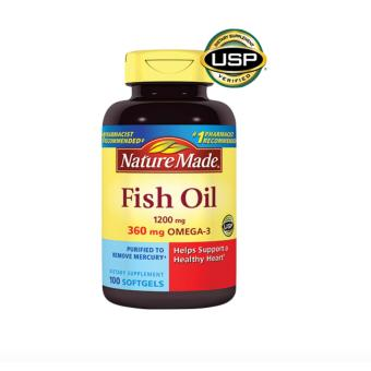 Harga Nature Made FishOil 1200mg Liquid Softgels
