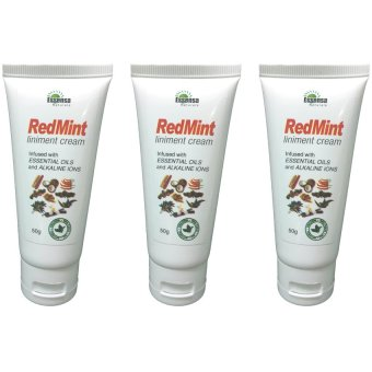 Essensa Naturale Red Mint Liniment Cream 50g Set of 3 Price Philippines