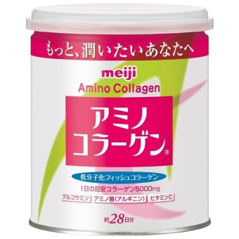 Meiji Amino Collagen Regular in can 5000mg 28 Days Price Philippines