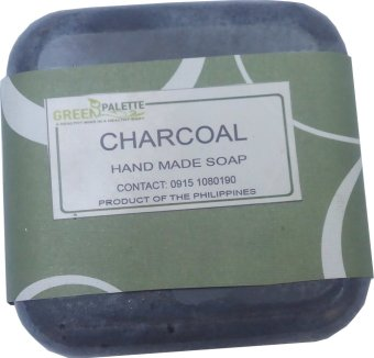 Harga Green Palette Charcoal Soap