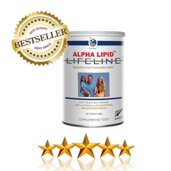 Harga Alpha Lipid Lifeline with Colostrum & Lactobacillus Acidophilus & Bifidobacterium