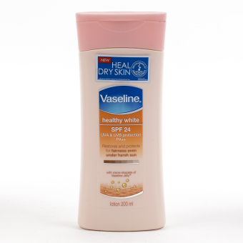 Harga Vaseline Healthy White SPF24 Lotion 200ml