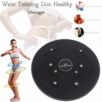 Harga Waist Twisting Disc Healthy Massager (Black)