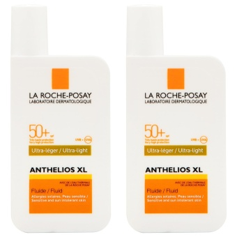 Harga 2 x La Roche-Posay Anthelios XL Very High Protection Ultra-Light Fluid SPF50+ 50ml - Intl