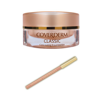 Harga Coverderm Classic Concealing Foundation 15ml No.1