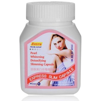 Pearl White Whitening Detoxifying Slimming 400mg Capsule Box of 30