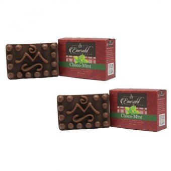 Harga Mont Sapo Emerald Choco-Mint Soap 120g Set of 2