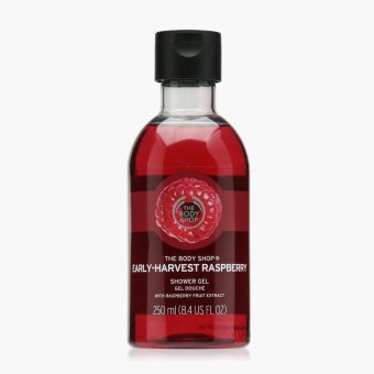 Harga The Body Shop Early-Harvest Raspberry Shower Gel 250 mL