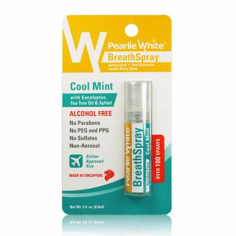 Pearlie White Breath Spray Alcohol Free Cool Mint 100 Sprays Price Philippines
