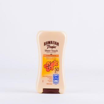 Harga Hawaiian Tropic Sheer Touch SPF50 120ml