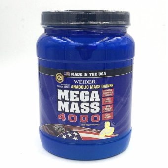 Harga Weider Mega Mass 4000 1.98lbs (Smooth Chocolate)
