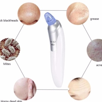 QF Facial Skin Care Acne Blackhead Suction Pore Beauty Machine Rose Gold Price Philippines