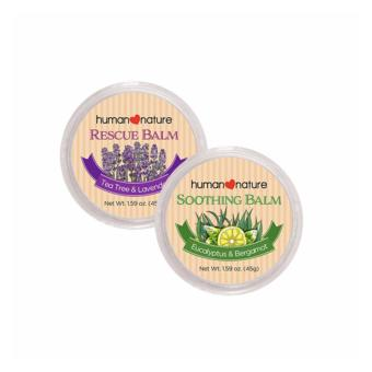 Human Nature Soothing Balm 45g and Rescue Balm 45g - Calm and Relief Balm Set Price Philippines