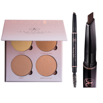 Harga Anastasia Beverly Hills Glow Kit - (THAT GLOW) + Brow Definer (Soft Brown)