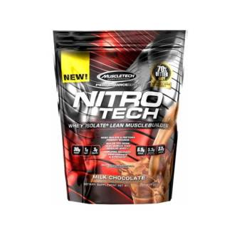 Harga MuscleTech Nitro-Tech Performance Series Lean Muscle Builder - 10lbs - Chocolate