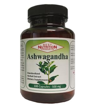 Harga Best Nutrition Ashwagandha Standardized Herbal Extract 100's 500mg