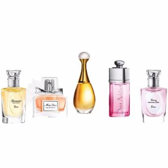 Harga Christian Dior 5pc Les Parfums De L'Avenue Montaigne (W)