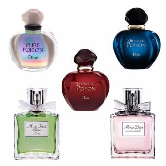 Harga Parfums Christian Dior POISON and Miss Dior 15ml Mini Set