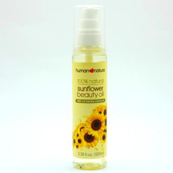Harga Human Heart Nature Sunflower Beauty Oil 100ml