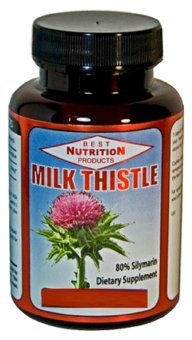 Harga Best Nutrition Milk Thistle 1000 mg (180 Softgels)