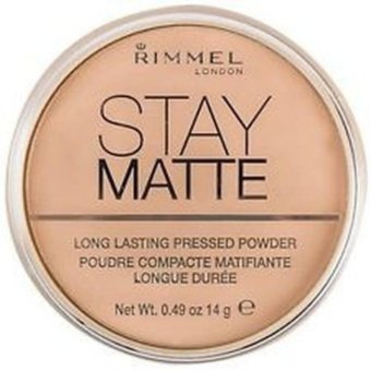 Harga Rimmel London Stay Matte Pressed Powder 14g (003-Natural)