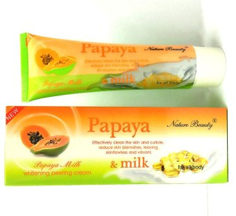 Nature Beauty Papaya Milk Whitening Peeling Cream Price Philippines
