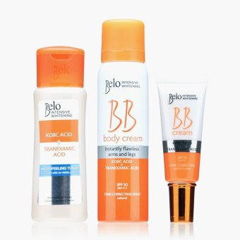 Belo Intensive Whitening Kojic Acid plus Tranexamic Acid Set Price Philippines
